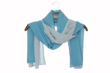double-sided silk scarf  photo