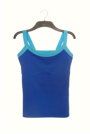 light blue lingerie: sports tee shirt