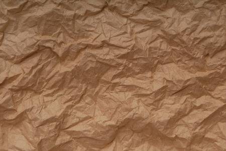 casing paper: crumpled paper  Stock Photo