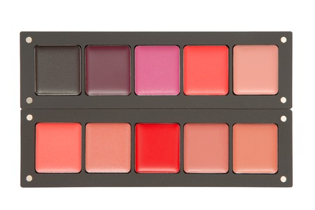grease paint: palette of lipstick