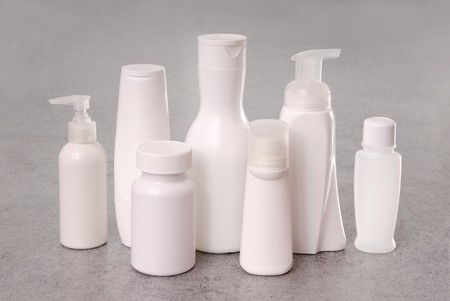 white plastic packing