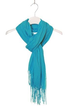 clotheshanger: turquoise scarf