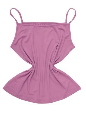 light blue lingerie: sports slinky tee shirt Stock Photo