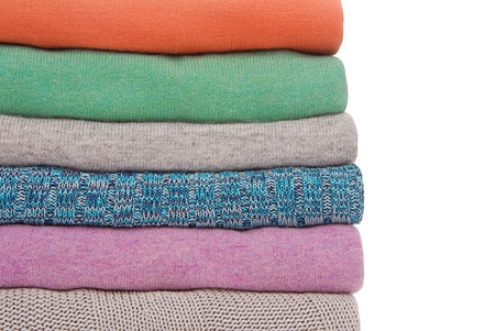 motton blue: pile of sweaters