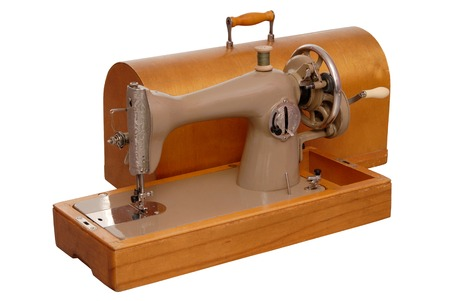 stitching machine: old stitching machine
