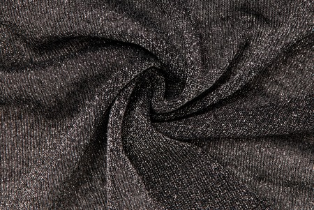 lurex: black lurex fabric