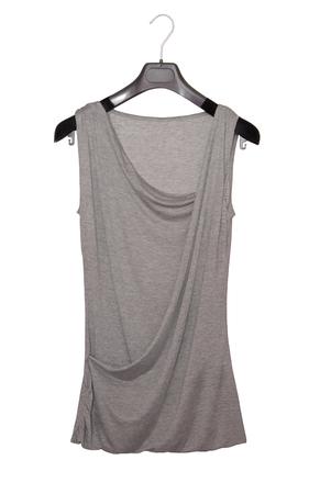clotheshanger: grey extravagant blouse