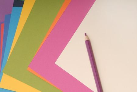 colored paper: colored paper