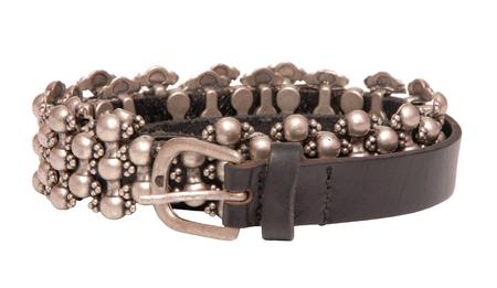 leather belt,  hard rock style, remen