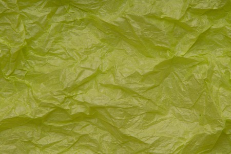 textural: crumpled light-green paper, textural background