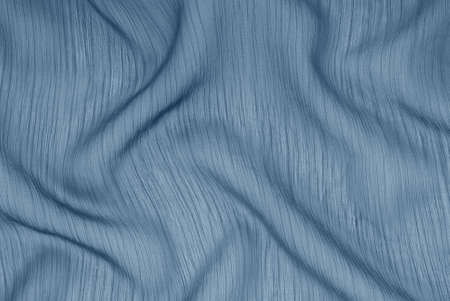 transparent navy blue cloth, textile creative background, artistic textured backdrop, dark blue silk, fashionable crepe de chine, beautiful draped material, gray cloth backgrounds