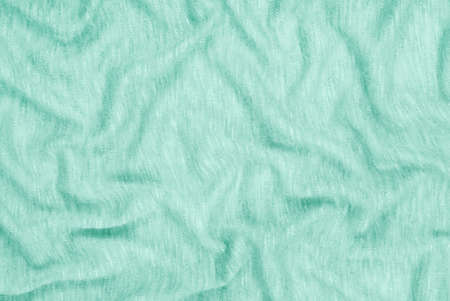 textile light green background, cloth as creative backdrop, beautiful draped aqua material, abstract drape turquiose material, turquise color of fabric
