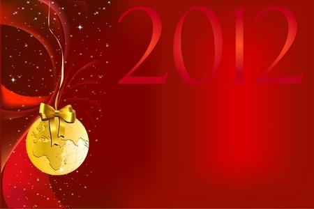 natale: sfondo natalizio rosso