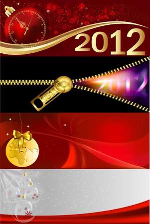 new year background Stock Vector - 11104391