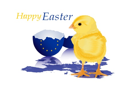 Happy Easter  Stock Vector - 12487378