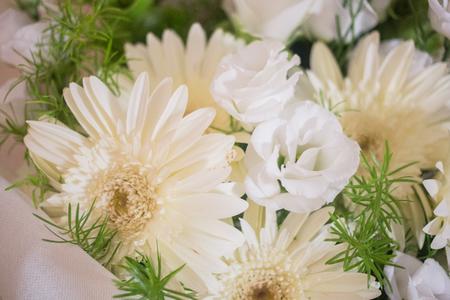 Detail of a wedding bouquet