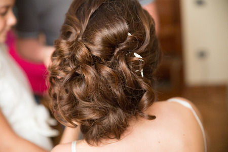levantandose: Brides make up session and hairstyle