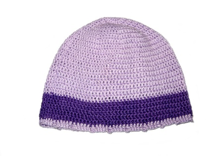 Crochet hat Stock Photo