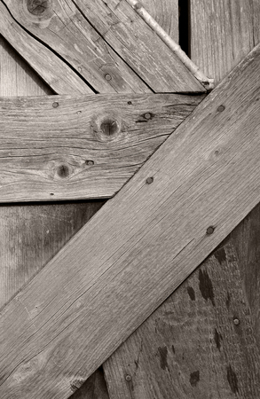 Detail of an old wooden gate like a background