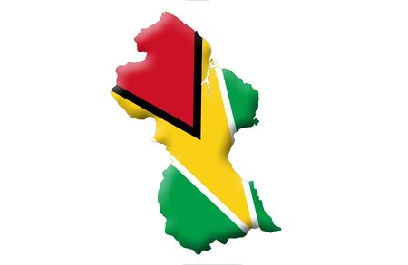 guyanese: Co-operative Republic of Guyana Stock Photo