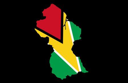 co operative: Co-operative Republic of Guyana Stock Photo
