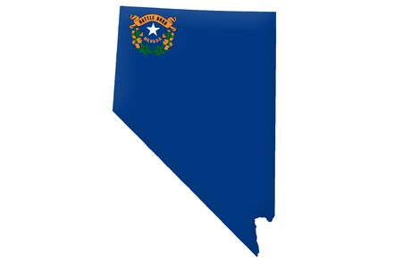 carson city: State of Nevada Stock Photo