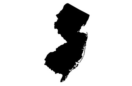 new jersey: State of New Jersey Stock Photo