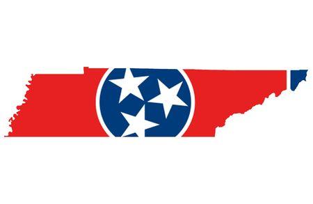 tennesse: Estado de Tennessee  Foto de archivo