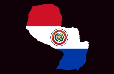 paraguay: Republic of Paraguay Stock Photo