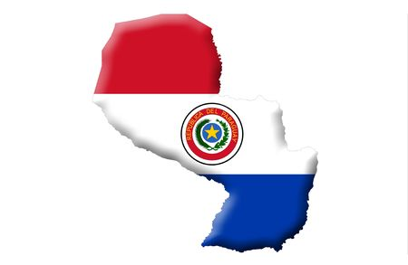 paraguay: Republic of Paraguay Stock Photo