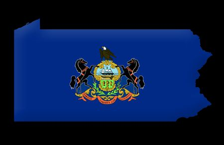 pennsylvania: Commonwealth of Pennsylvania Stock Photo