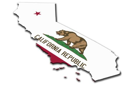 california flag: California