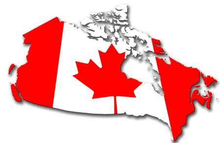 map of canada: Canada Stock Photo