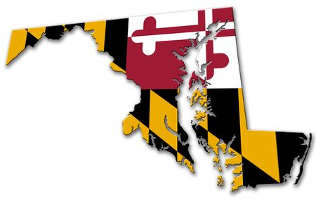 maryland flag: Maryland