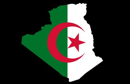 People's Democratic Republic of Algeria Stock Photo - 6857033