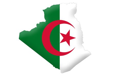 People's Democratic Republic of Algeria Stock Photo - 6857054