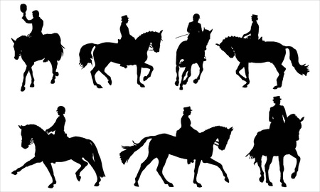 dressage: Dressage Illustration