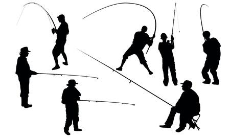fishing rods: Fishing