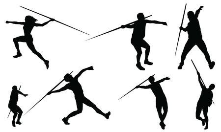 lanzamiento de jabalina: Lanzamiento de jabalina