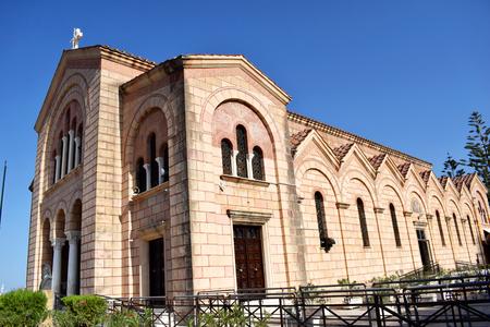 The Great Church of the Greek Orthodox Church. Church building of the Greek Orthodox Church on the island of Zakynthos. Church of Agios Dionysios Saint Dionysios. The church was built in 1708.