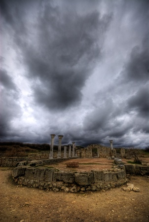 abandoned city: Ruin