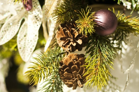 deffirent kinds of christmas tree ornaments and decorations new year stock photo 10856902 - Kinds Of Christmas Trees