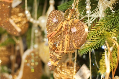 deffirent kinds of christmas tree ornaments and decorations new year stock photo 10856910 - Kinds Of Christmas Trees