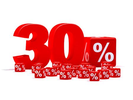 merciless: 30 percent Stock Photo