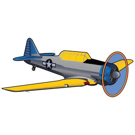 World War II Era Navy Training Airplane