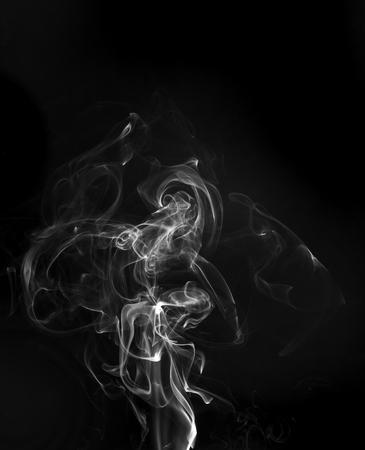 お香を煙します。熱い食べ物から煙をシミュレートしました。
