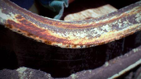 Close up rust