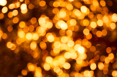 Abstract gold blur background with copy space photo