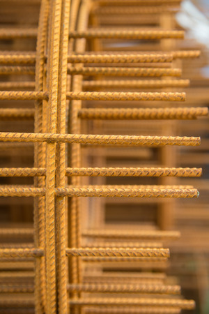 metal mesh: Metal Mesh building background Stock Photo