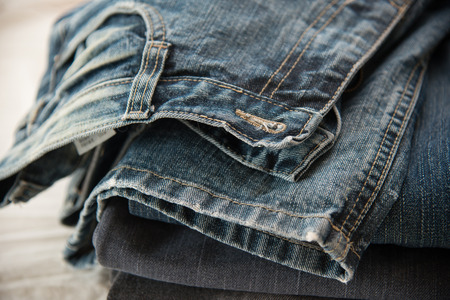jeans pocket: Close up of blue jeans ,Blue Jeans texture